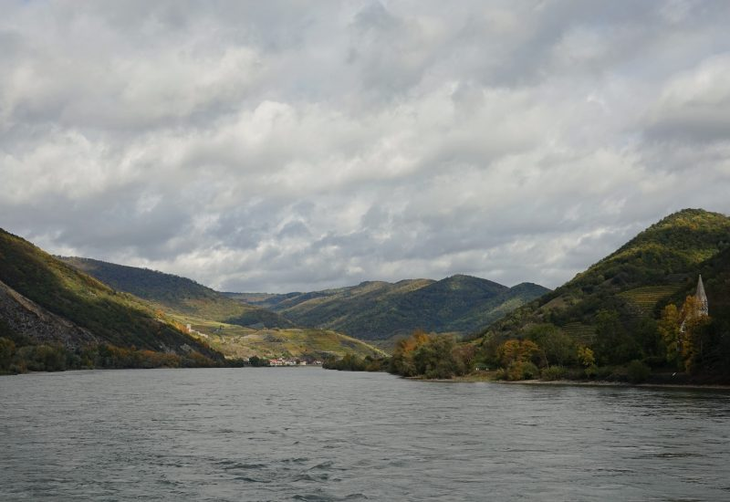 Wachau Valley from the Danube